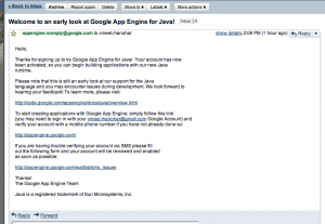 google-app-engine-java-permission-granted-email
